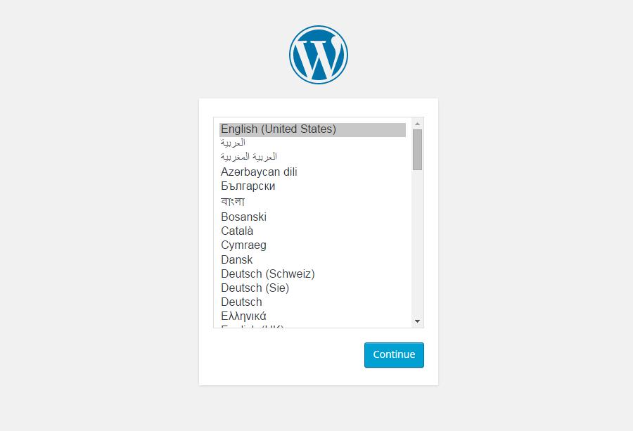 WordPress后台中英文切换教程